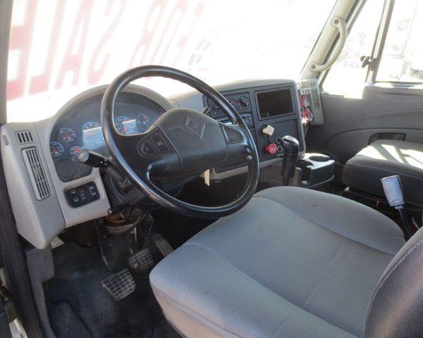 Inside of International Truck