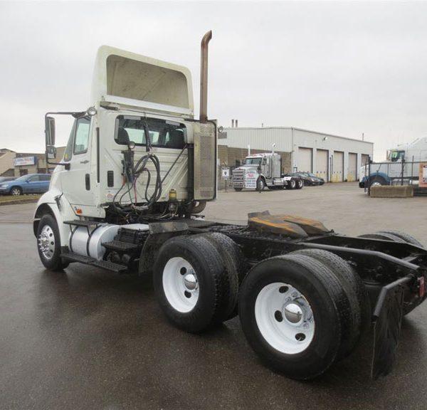 Back view of an International Truck