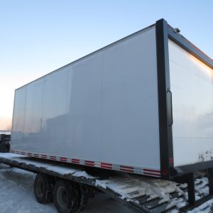 Side View Dry Freight Van Body
