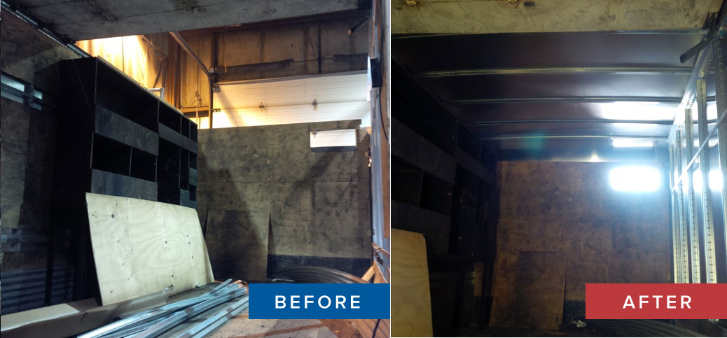 Roof Replacement Truck Body